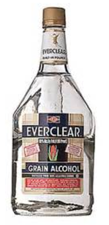 Everclear Grain Alcohol 190@